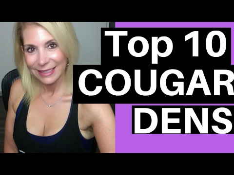 10 Best Places To Pick Up Older Women - Where Do I Find A COUGAR? Where Are Cougar Dens?
