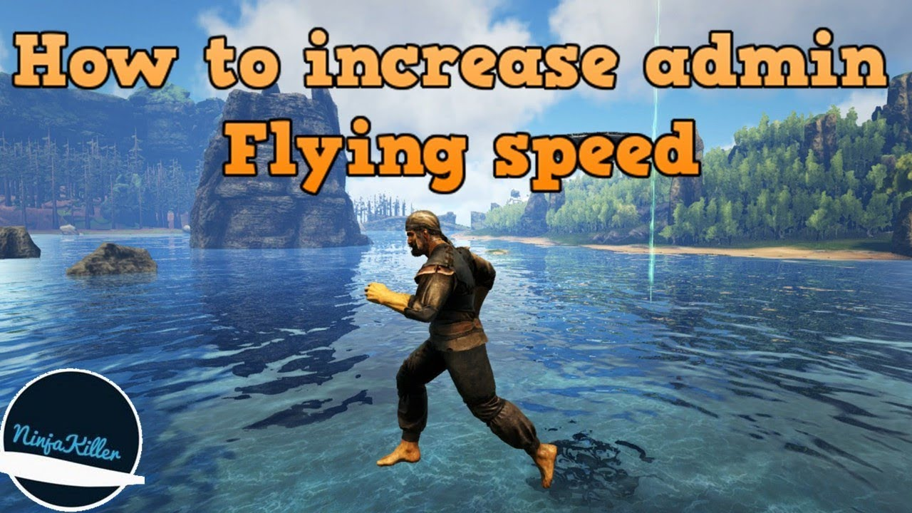 how to fly fast in ark
