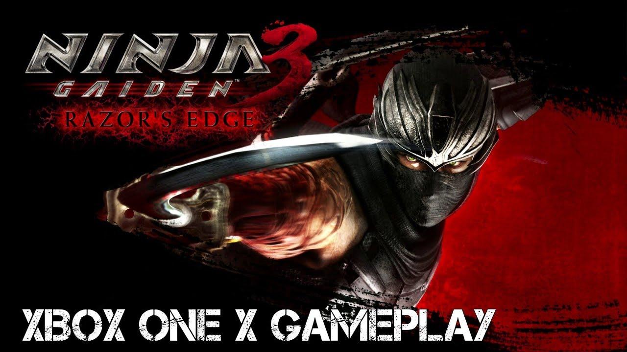 Ninja Gaiden 3 Razors Edge Xbox One X Backwards Compatible