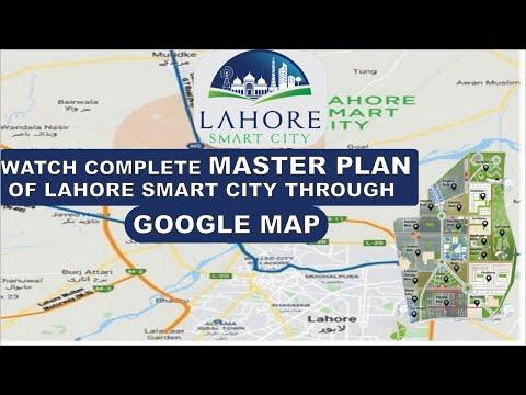 Lahore Smart City, Master Plan Explained Through Google Maps, Awaz Marketing