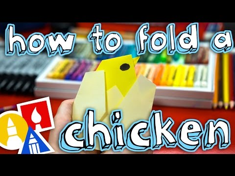 How To Fold An Origami Baby Chicken