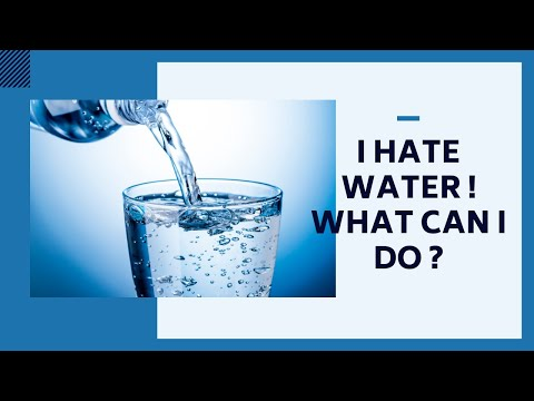 I Hate Water ! What I Can Do ? | INFO SPOT