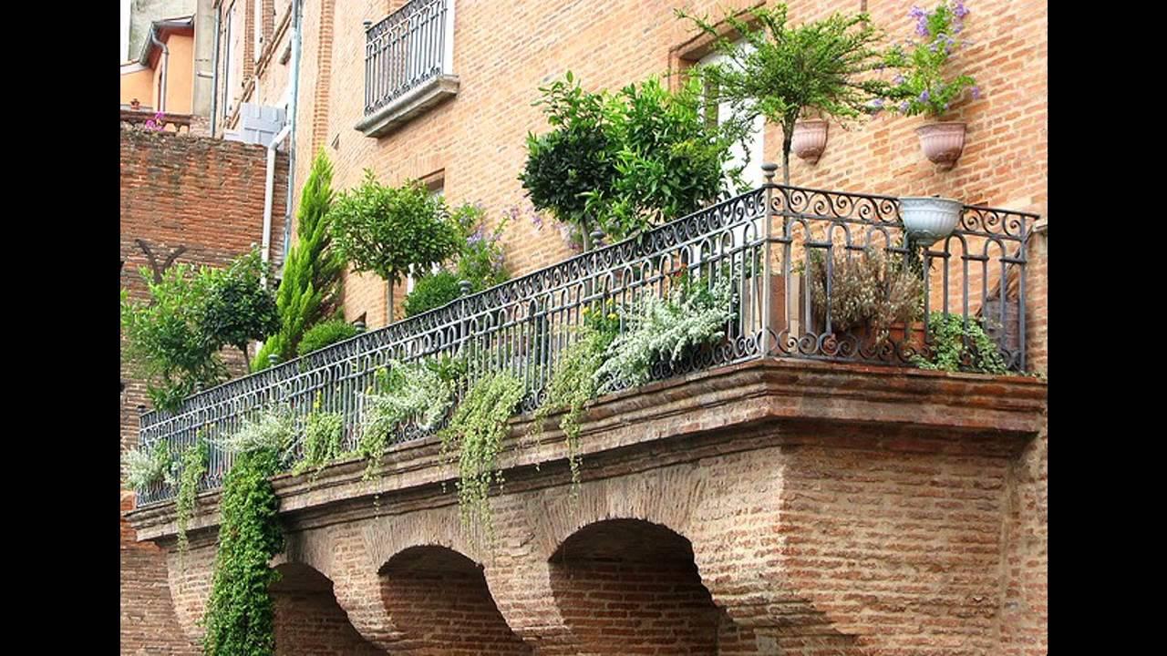 [Garden Ideas] Beautiful balcony garden - YouTube