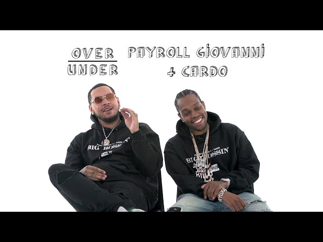 Payroll Giovanni & Cardo Rate Juggalos, Eddie Murphy, and Ric Flair | Over/Under