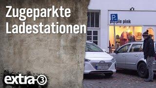 Realer Irrsinn: Zugeparkte Ladestationen in Hamburg