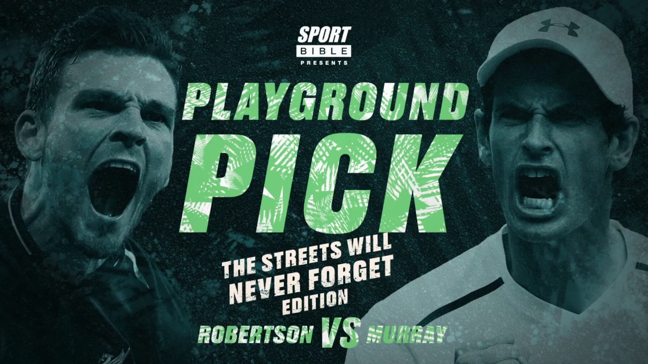 Sporting Legends Andy Murray & Andy Robertson Are So Competitive In Playground Pick | SPORTbible