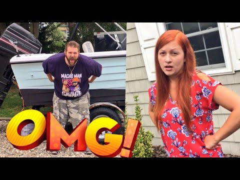 MY BUTT ON HER BOAT! WIFE REACTS TO CRINGE HUSBANDS CHILDISH ANTICS!