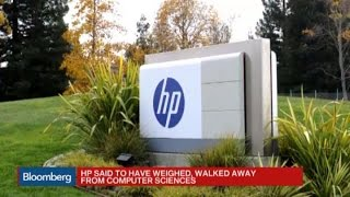 HP Said to Have Walked Away From Computer Sciences Deal