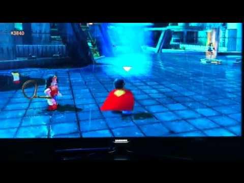 Lego batman 2 hidden gold brick Gotham zoo