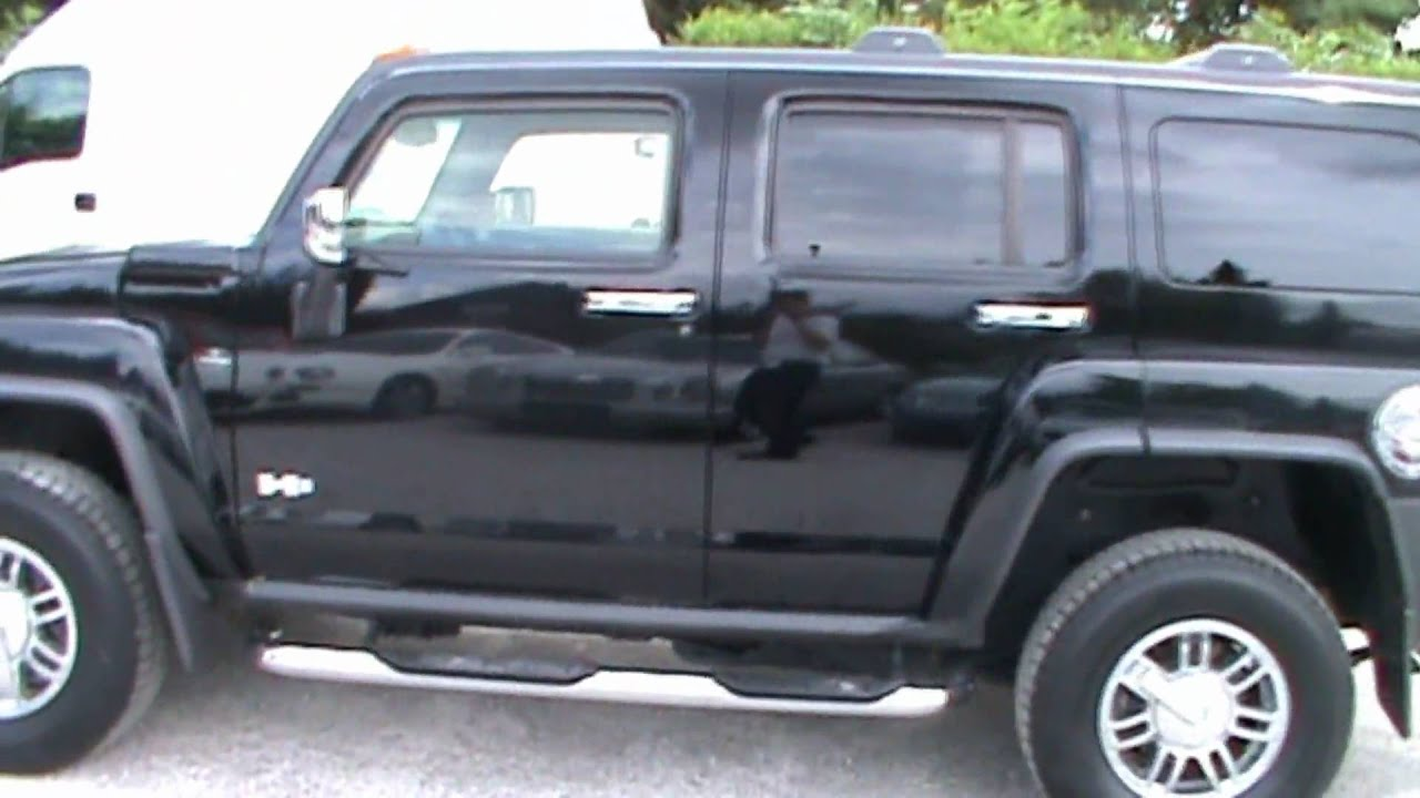 2007 Hummer H3 3 7 4S LUXURY AUTOMATIC DVD Full Review Start Up