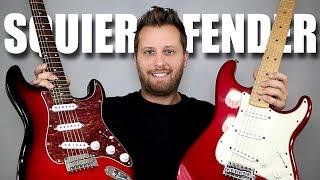 SQUIER vs FENDER - Stratocaster Tone Comparison!!