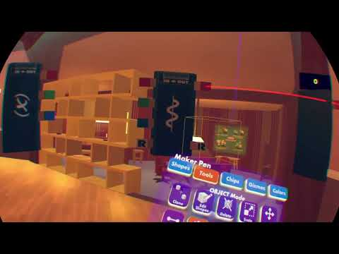 Rec Room Tutorial Rotator Gizmo and Wave chip