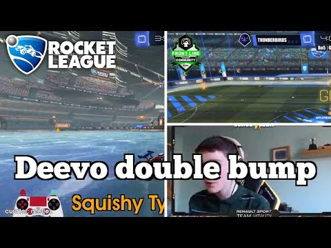 Sick Rocket League Plays: Deevo double bump thumbnail