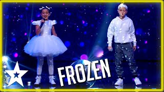 Singing & Rapping to Disney's FROZEN on Malta's Got Talent 2020 | Kids Got Talent