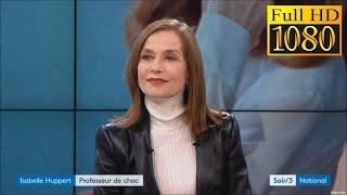 ISABELLE HUPPERT - INTERVIEW - MADAME HYDE - HOMMAGE A STÉPHANE AUDRAN - 27 mars 2018