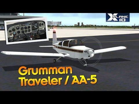 Grumman American Traveler/AA-5 by vFlyteAir - X-Plane 10