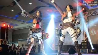 Attack On Titan Cosplay Guren No Yumiya Live YukiGodbless JiakiDarkness At Philippine On BOA