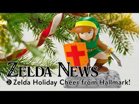 Zelda News | Zelda Holiday Cheer from Hallmark!