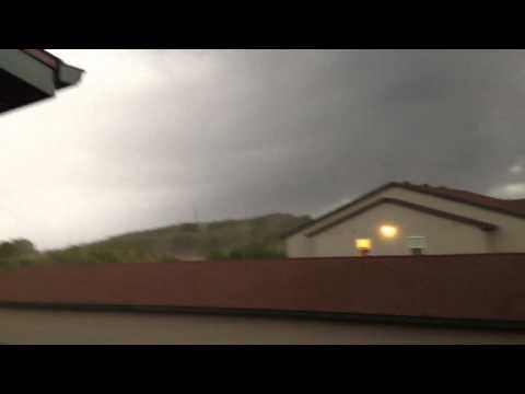 Rib mountain tornado
