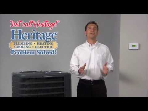 Heritage Quick Tips for AC Maintenance
