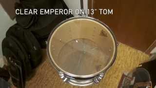 Clear Ambassador vs Clear Emperor on toms