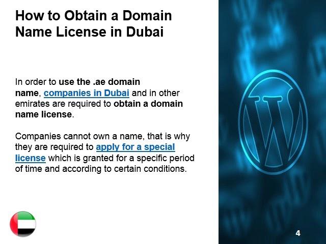 Reserving a Dubai Domain Name