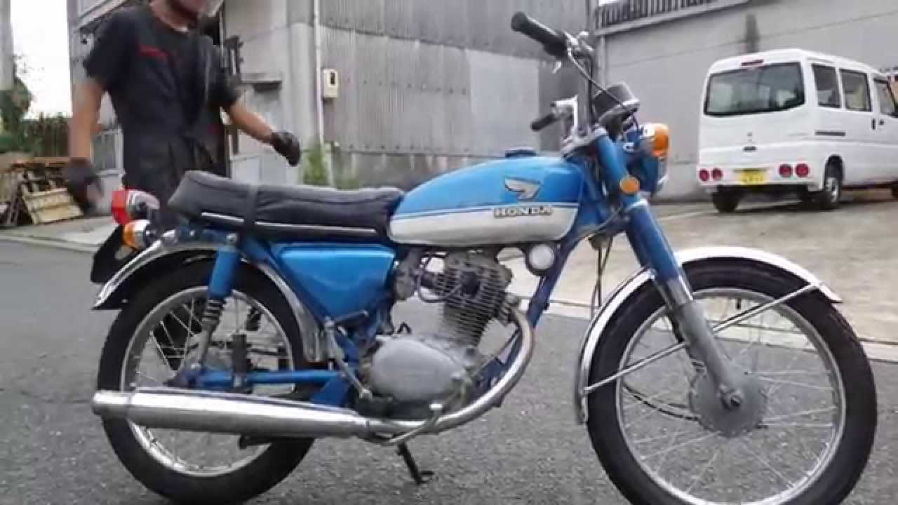 honda cb125s 1970 youtube. Black Bedroom Furniture Sets. Home Design Ideas