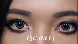 Thử Đeo Những Màu Kính Áp Tròng Mới - Eye secret Contact Lens - Vân Thỏ