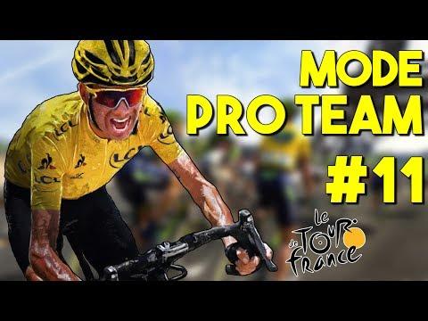 Tour de France 2017 | Mode Pro Team #11 : TACTIQUE D'ÉQUIPE !!