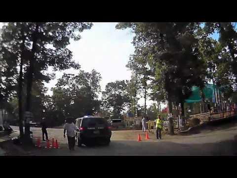 Intense security at Chua Tam Nguyen 2