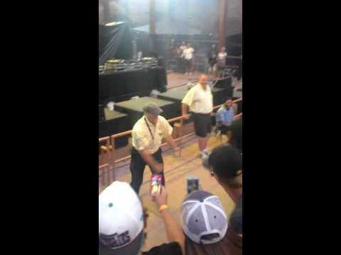 Red Rocks Security Guard gets down!