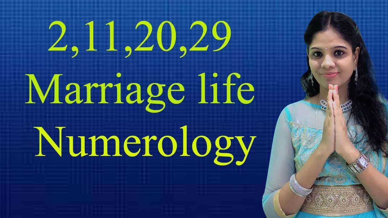 Numerology|2,11,20,29 marriage life Numerology|marriage Numerology|  marriage life 2 number|rajasudha