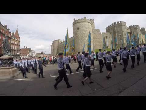 Air Cadets 75th Anniversary, Thames Valley Wing
