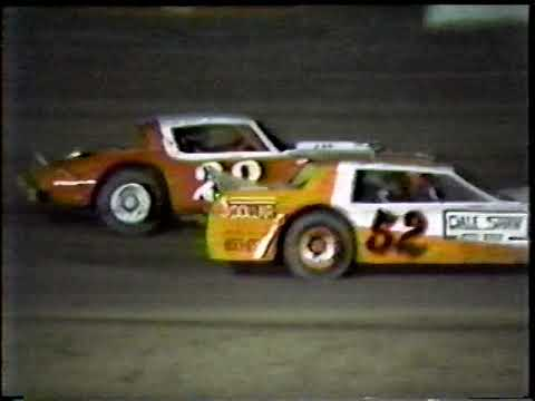 1987 Enid Speedway weekly late model races from the Kip Hughes collection Pt 2. - dirt track racing video image