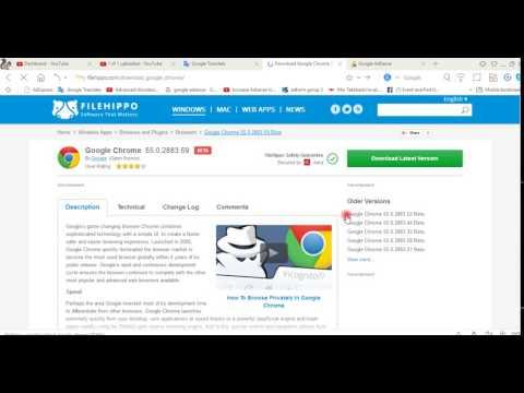 Google Chrome For Windows 7 64 Bit Filehippo