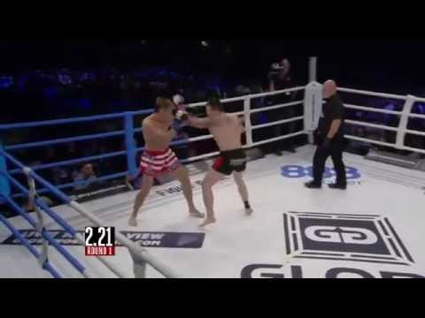GLORY 1 Stockholm - Ky Hollenbeck vs Michael Corley (Full Video)