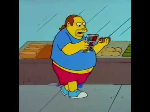 Comic Book Guy Oh I've Wasted My Life - The Simpsons - But Aquaman..