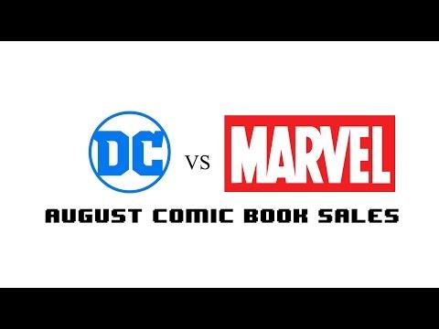 Top Selling Comics August 2016   TNTM COMIC BOOK TALK