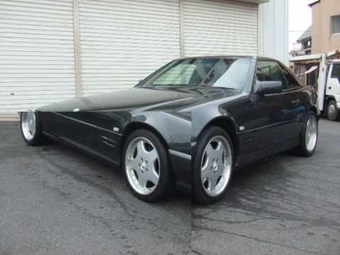 1993 MercedesBenz SL600 V12  YouTube