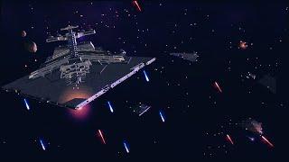 PRAETOR CLASS BATTLECRUISER Star Wars Warlords Mod Gameplay