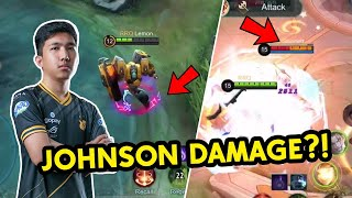 HYPER JOHNSON | MOBILE LEGENDS GAMEPLAY