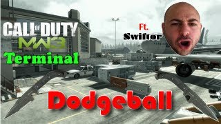 "MW3: Terminal | Throwing Knife Dodgeball ft. Swiftor | ""This is Slaughter!"""