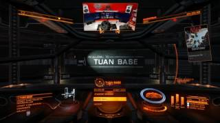 Overlay e UI test with Elite Dangerous and Xsplit Broadcaster