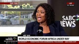 2019 World Economic Forum on Africa I Zimbabwe's Minister Fortune Chasi