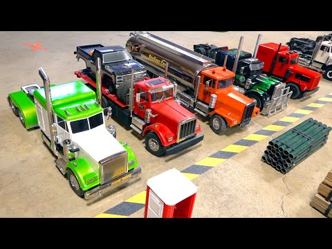 LOADING KINGS: GLORIOUS VICTORY & GLORIOUS LOSS - The WORLDS ONLY RC TRUCKING GAME SHOW!