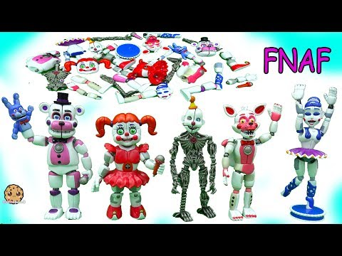 Thumbnail: Five Nights At Freddy's Sister Location Funko Ballora, Baby, Funtime Foxy FNAF Game Toys