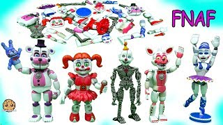 Five Nights At Freddy's Sister Location Funko Ballora, Baby,  Funtime Foxy FNAF Game Toys