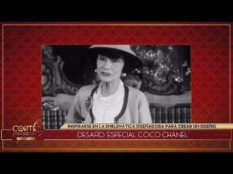 Corte y confección - Programa 19/04/19 - Desafío: Coco Chanel