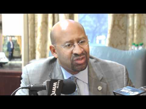 Mayor Nutter talks to WHYY's Dave Davies in a year-end interview