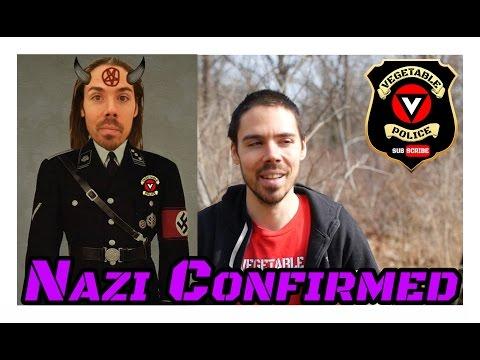 Vegetable Police vs Lame Vegan YouTubers RE: Am I a Nazi?